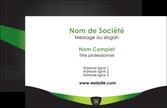 faire modele a imprimer carte de visite gris vert fond MLIP64001