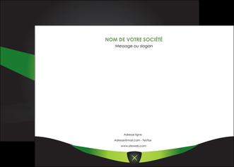 personnaliser modele de affiche gris vert fond MLIG64021
