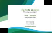 realiser carte de visite vert bleu couleurs froides MLIP64163