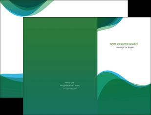 faire modele a imprimer pochette a rabat vert bleu couleurs froides MLIP64175