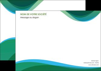 modele en ligne affiche vert bleu couleurs froides MLIP64185