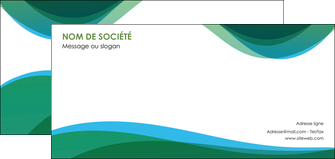 imprimer flyers vert bleu couleurs froides MLIP64199