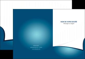 exemple pochette a rabat bleu fond  bleu couleurs froides MIF64251