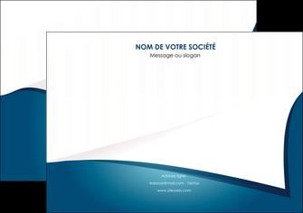 creation graphique en ligne affiche bleu fond  bleu couleurs froides MIF64255