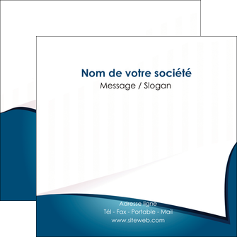 personnaliser modele de flyers bleu fond  bleu couleurs froides MIF64271