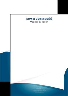 modele affiche bleu fond  bleu couleurs froides MIF64281