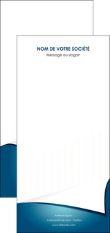 personnaliser maquette flyers bleu fond  bleu couleurs froides MIF64287