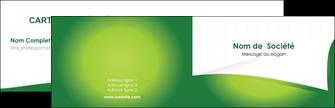 Commander carte de visite pelliculage mat  Carte commerciale de fidélité papier publicitaire et imprimerie Carte de visite Double - Paysage