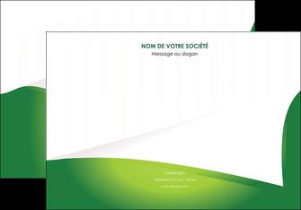 faire affiche vert fond vert abstrait MIF64363
