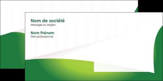 exemple enveloppe vert fond vert abstrait MIF64379