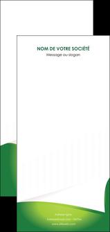 faire modele a imprimer flyers vert fond vert abstrait MIF64391