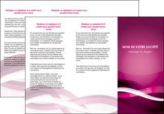 Commander Plaquette commerciale  papier publicitaire et imprimerie Dépliant 6 pages pli accordéon DL - Portrait (10x21cm lorsque fermé)
