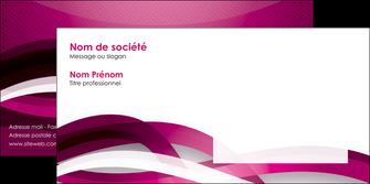 personnaliser maquette enveloppe violet violet fonce couleur MIF64553