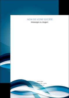 imprimer affiche web design bleu fond bleu couleurs froides MIS64683