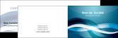 personnaliser maquette carte de visite web design bleu fond bleu couleurs froides MLGI64689