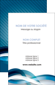 exemple carte de visite web design bleu fond bleu couleurs froides MLGI64691