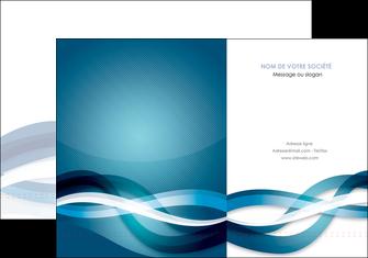 personnaliser modele de pochette a rabat web design bleu fond bleu couleurs froides MIS64693