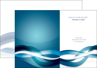 personnaliser modele de pochette a rabat web design bleu fond bleu couleurs froides MLGI64693