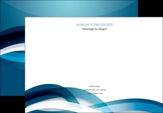 modele affiche web design bleu fond bleu couleurs froides MIS64703