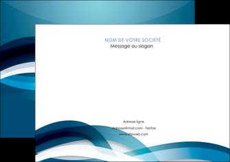 modele en ligne affiche web design bleu fond bleu couleurs froides MIS64705