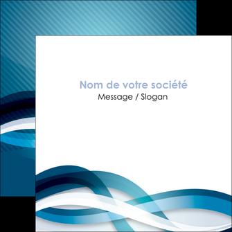 faire modele a imprimer flyers web design bleu fond bleu couleurs froides MLGI64715