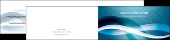 exemple depliant 2 volets  4 pages  web design bleu fond bleu couleurs froides MIS64717
