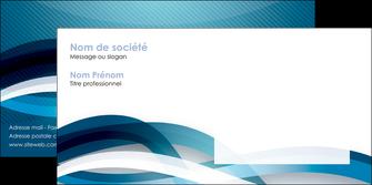 modele enveloppe web design bleu fond bleu couleurs froides MIS64719