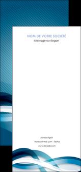 exemple flyers web design bleu fond bleu couleurs froides MLGI64731
