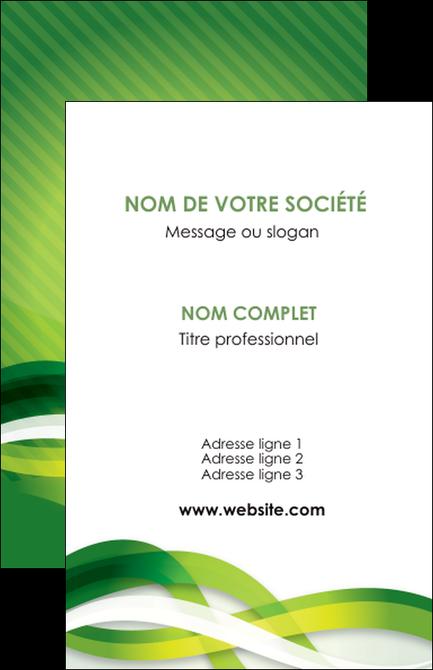 Impression Carte De Visite Vert Verte Fond MLGI64743