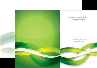 creer modele en ligne pochette a rabat vert verte fond vert MLGI64745