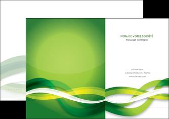 faire modele a imprimer pochette a rabat vert verte fond vert MLGI64747