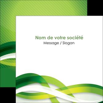 faire modele a imprimer flyers vert verte fond vert MLGI64767