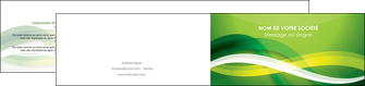 imprimer depliant 2 volets  4 pages  vert verte fond vert MLGI64769