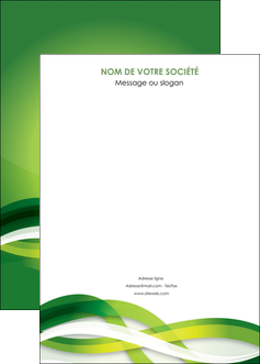 creation graphique en ligne affiche vert verte fond vert MLGI64777