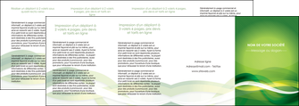 imprimerie depliant 4 volets  8 pages  vert verte fond vert MLGI64781