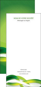 faire modele a imprimer flyers vert verte fond vert MLGI64783