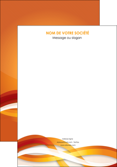 creer modele en ligne affiche orange colore couleur MLGI64805