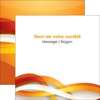 modele en ligne flyers orange colore couleur MLGI64837