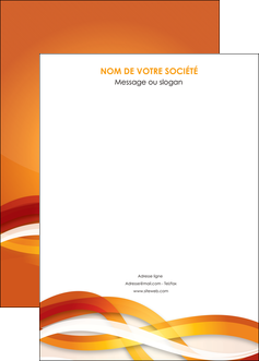 modele en ligne affiche orange colore couleur MLGI64847