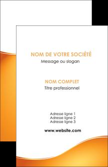 realiser carte de visite orange fond orange fluide MLGI65439