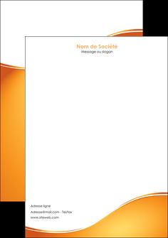 imprimer tete de lettre orange fond orange fluide MLGI65461