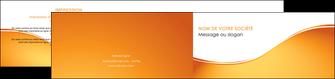 faire modele a imprimer depliant 2 volets  4 pages  orange fond orange fluide MLGI65465
