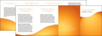 faire modele a imprimer depliant 4 volets  8 pages  orange fond orange fluide MLGI65477