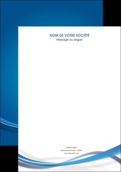 creer modele en ligne affiche bleu fond bleu pastel MIF66669