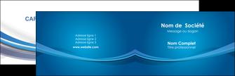 personnaliser modele de carte de visite bleu fond bleu pastel MIF66675