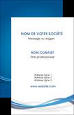 impression carte de visite bleu fond bleu pastel MLIP66677