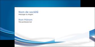 creation graphique en ligne enveloppe bleu fond bleu pastel MIF66705