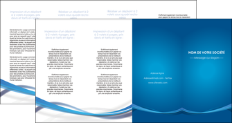 creation graphique en ligne depliant 4 volets  8 pages  bleu fond bleu pastel MLGI66713