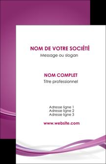 creation graphique en ligne carte de visite violet violette abstrait MLGI66949