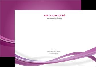 personnaliser modele de affiche violet violette abstrait MLGI66961